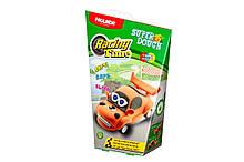 Масса для лепки Paulinda Super Dough Racing time Машинка оранжевая инерционный механизм PL-081161, КОД: