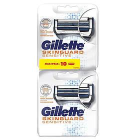Сменные кассеты Gillette SkinGuard Sensitive Maxi Pack (10 шт.) 01657