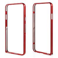 Чехол бампер металл Hippocampal Buckle для LG Nexus 5X H791 красный