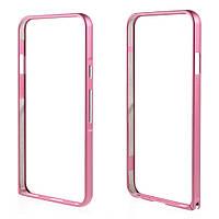 Чехол бампер металл Hippocampal Buckle для LG Nexus 5X H791 розовый