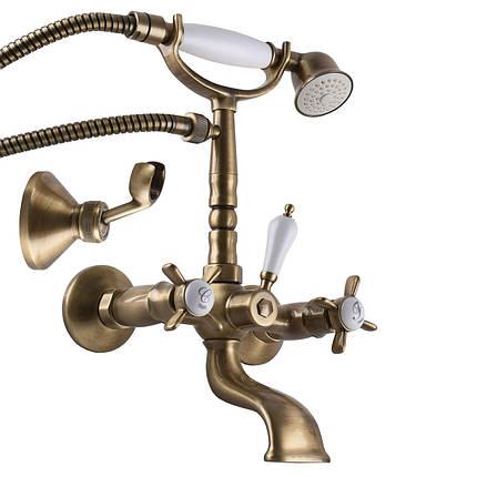 Смеситель для ванны TRES RETRO 5241700161, фото 2