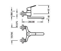 Смеситель для кухни TRES BM 139418, фото 3
