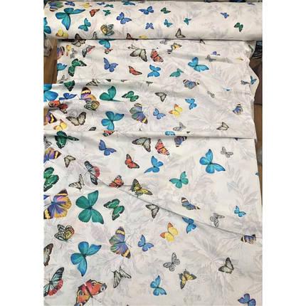 Постельное белье Бабочки 3Д перкаль ТМ Царский дом  (Семейный), фото 2