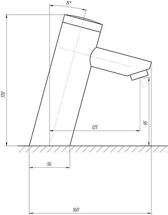 Монокран инфракрасный для умывальника TREMOLADA TREMO-8501, фото 2