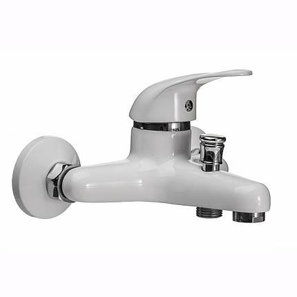 Смеситель для ванны EcoMix GEZ-WHITE-102, фото 2