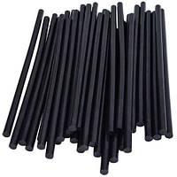 Термоклей диаметр 7мм, длинна 200мм, чёрный, 1кг, Taiwan