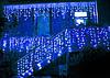 """Светодиодная гирлянда """"Дождь"""" 4м * 0,6м IP65 синий"""