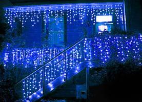 Светодиодная гирлянда синий 4м * 0,6м IP44 Ecolend