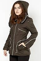 Женская куртка на холлофайбере  Snow Holy И66-ОS