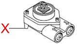 V296 Турбіна(лічильник води), металева, d=1.2mm, фото 2