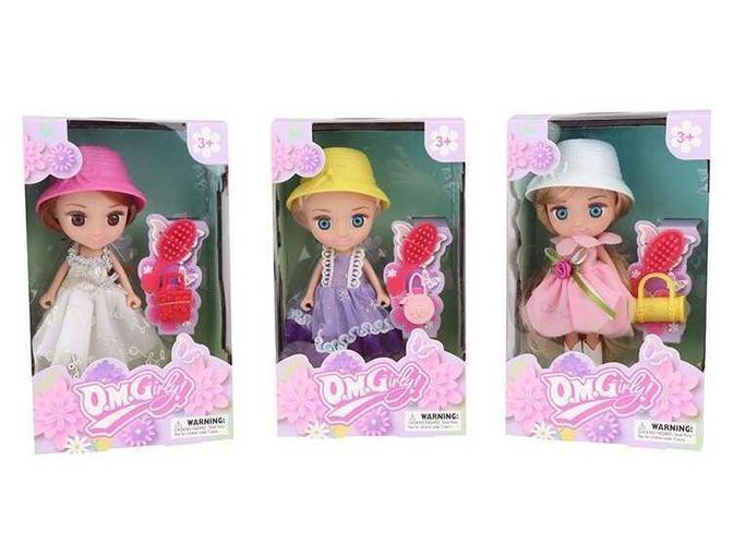 Кукла o.m.girly 65003 в шляпе с аксессуарами в коробке, Подарок девочке от 3 лет на день рожденье MB