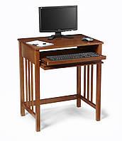 Стол письменный компьютерный из массива дерева 039