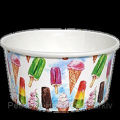 """Креманка для мороженого """"МОРОЖЕНОЕ"""" 280мл 50шт"""