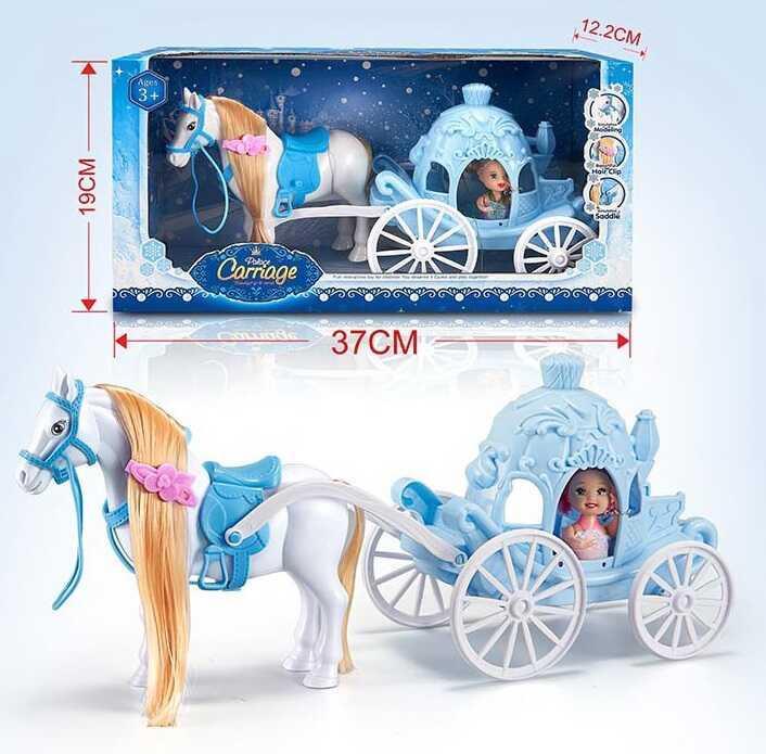 Карета принцеси з конячкою 686-813 в коробці