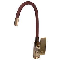 Смеситель для кухни DOMINO MALIBU DMM-203 LR-Bronze-Brown, фото 3