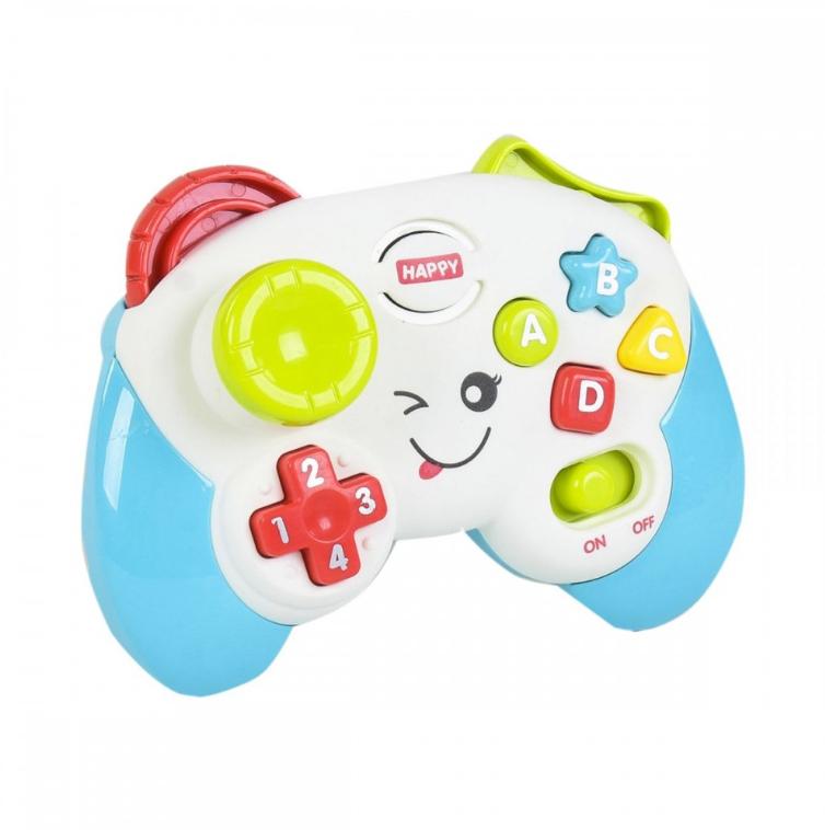 Дитячий іграшковий розумний пульт, навчальна інтерактивна іграшка, музичний джойстик QF366-035