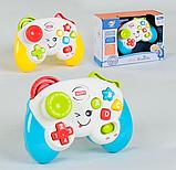 Дитячий іграшковий розумний пульт, навчальна інтерактивна іграшка, музичний джойстик QF366-035, фото 2