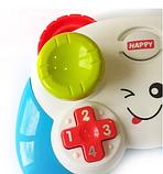 Дитячий іграшковий розумний пульт, навчальна інтерактивна іграшка, музичний джойстик QF366-035, фото 3