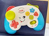 Дитячий іграшковий розумний пульт, навчальна інтерактивна іграшка, музичний джойстик QF366-035, фото 4