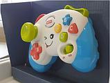Дитячий іграшковий розумний пульт, навчальна інтерактивна іграшка, музичний джойстик QF366-035, фото 6