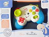 Дитячий іграшковий розумний пульт, навчальна інтерактивна іграшка, музичний джойстик QF366-035, фото 7