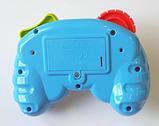 Дитячий іграшковий розумний пульт, навчальна інтерактивна іграшка, музичний джойстик QF366-035, фото 8