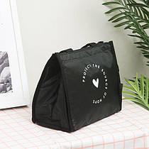 Термосумка для обідів та ланчів - ізотермічна сумка для їжі та напоїв 6 л