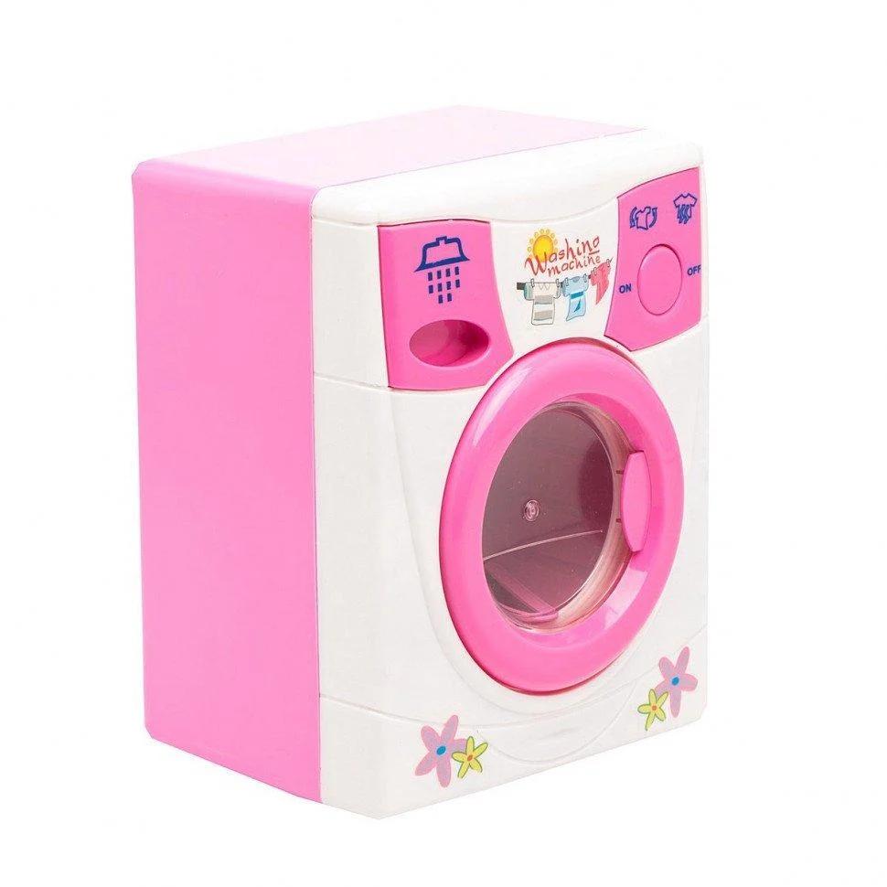 Дитячий ігровий набір побутової техніки Play Smart пральна машина з водою Затишний будинок, обертовий барабан,