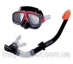 Набор для плавания 2 в 1: маска, трубка Intex 55949, от 8 лет