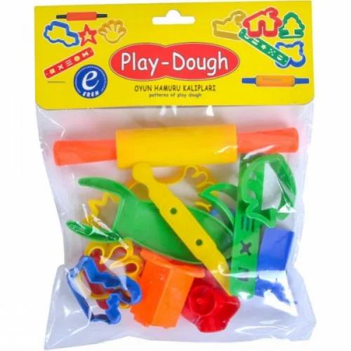 Набор инструментов для лепки Play-Dough   ERN-014 формочки вырубки со скалкой и ножами