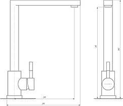 Змішувач для кухні Globus Lux ALPEN SUS-112, фото 3