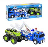 Детская игрушка игровая машина эвакуатор погрузчик для детей,  детские машинки спецтехника 1188-35, фото 2