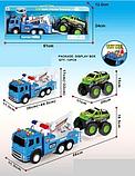 Детская игрушка игровая машина эвакуатор погрузчик для детей,  детские машинки спецтехника 1188-35, фото 3