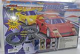 Дитячий гоночний автотрек Turbo Chargers 2808 AB (235 см) з машинками для дітей, фото 5