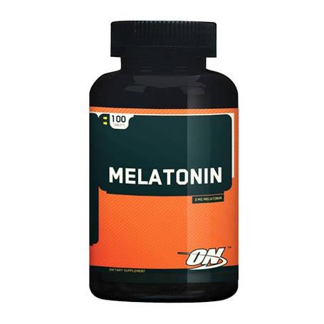 Melatonin (Мелатонин) Optimum Nutrition 100 таб 3 мг, фото 2