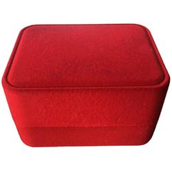 Коробка для годин Квадрат червоний