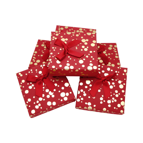Коробочка 9/9/2,5, красный цвет, цена 13 грн.