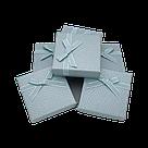 Коробочка подарочная для украшений 9/9/2,5 см 24 шт./упак., фото 5