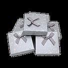 Коробочка подарочная для украшений 9/9/2,5 см 24 шт./упак., фото 6