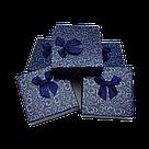 Коробочка подарочная для украшений 9/9/2,5 см 24 шт./упак., фото 9