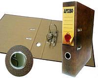 Папка-регистратор 50мм А4 покрытие КРАФТ APXIBO полноцветная печать под кожу