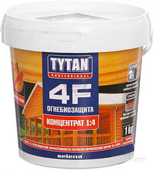 Tytan 4F Деревозахистний склад «Вогнебіозахист» концентрат 1:4, 1 кг