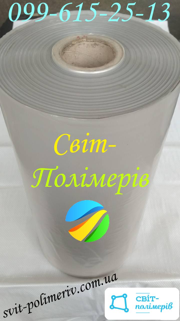 Полотно поліетиленове вторинне 1с СВІТЛЕ - 400 мм, 100 мкм, 650 мп