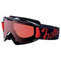 Горнолыжная маска Bolle Nova Shiny Black / Basics Vermillon
