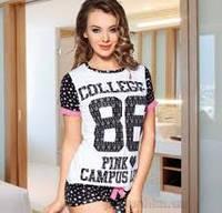 Костюм для дома Lady Lingerie футболка и шорты 3672