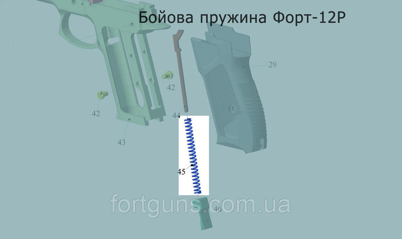 Заміна бойової пружини Форт-12Р