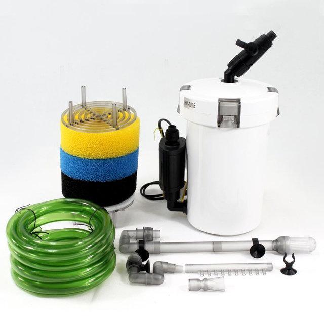 Зовнішній фільтр SunSun HW-503 для акварума 40-150 л (5 Вт, 350 л/год)