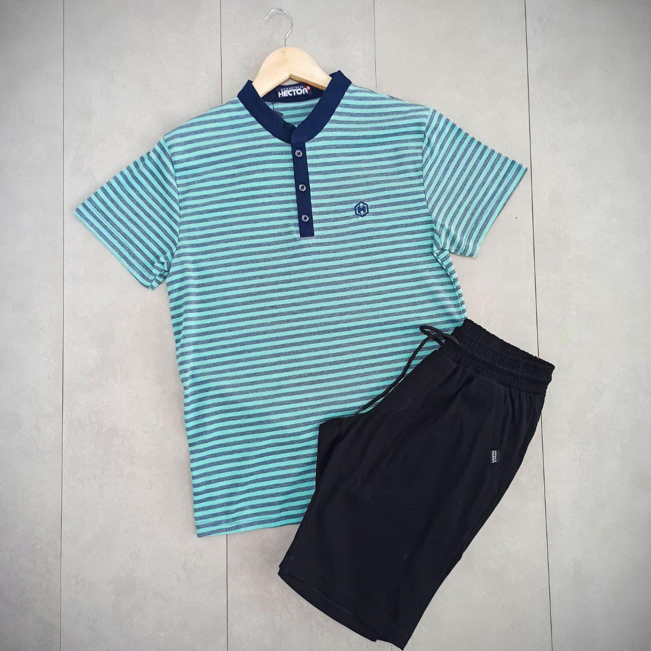 Мужской комплект поло/футболка и шорты , поло и шорты ,мужская тенниска,