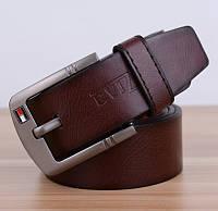 Мужской стильный кожаный ремень. Четыре цвета, фото 4