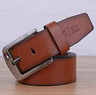 Мужской стильный кожаный ремень. Четыре цвета, фото 5